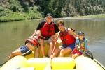 Fernando Roth & family on the Colorado River, near Vail, July 4, 2005