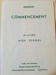 Class of 1975 Commencement Announcement