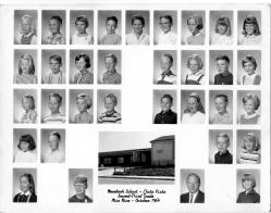 Rosebank Elementary, October 1964, 2nd/3rd Grade. Submitted by Roy Bottger
