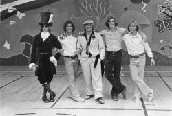 1975 Hilltop High School Variety Show (Roy Bottger, Mike Brower, Jim Gore, Ken Cedeno, Russ Hall)